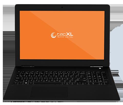 Bildschirmhintergrund mit tecXL Logo